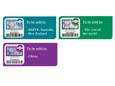 Unilin has implemented an authentication label program by which licensed partners must attach an holographic label on every box of product made in China, India, Vietnam, Taiwan, New Zealand, Japan, Philippines, Latvia and Kazakhstan that is manufactured and sold under the clic flooring patent rights. Products in boxes without labels are considered as unlicensed products even if they are manufactured by a licensed company. We could offer the Unilin L2C labels, so no worry about the patent rights to sell our flooring.