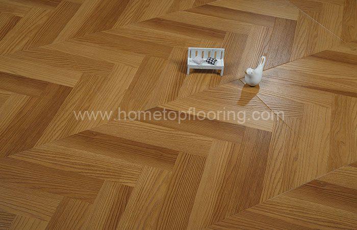 Fishbone Design Easy click Laminate Flooring 8342