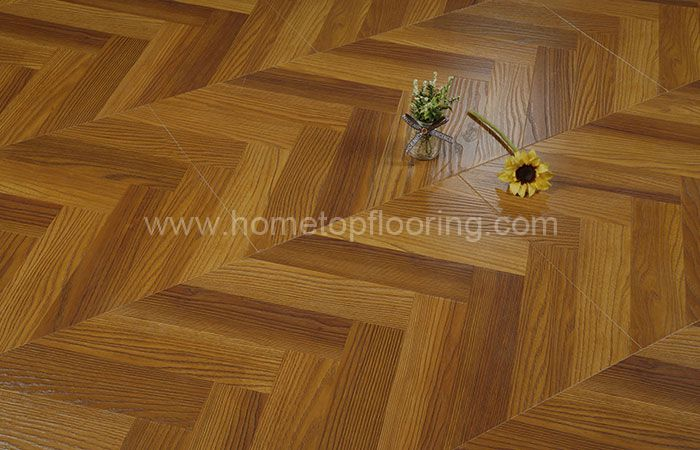 Fishbone Design Easy to clean Laminate Flooring 8343-1