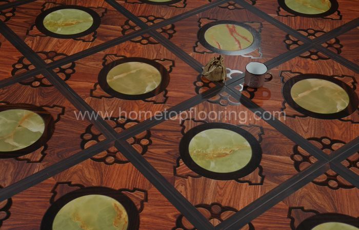 Hdf laminated flooring 12 mm 7901
